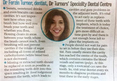 Dr. Furzin Turner - Dental Specialist in Mumbai